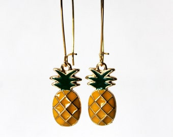 Pineapple earring