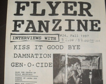 TOXIC FLYER ZINE issue 24