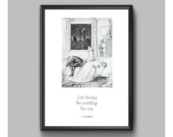 Digital Print - Peter Pan - Always Be Waiting