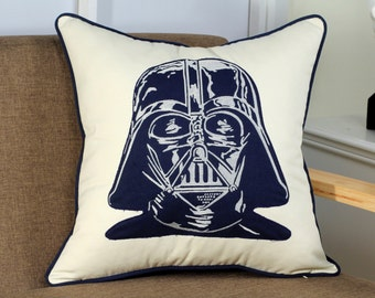 Star Wars Darth Vader Appliqued Pillow Cover