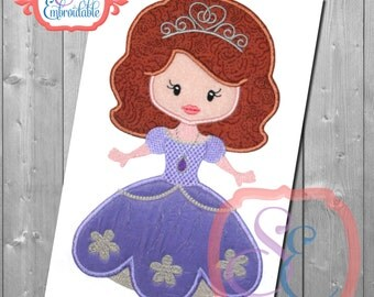 Little Princess 14 Applique Design For Machine Embroidery INSTANT DOWNLOAD