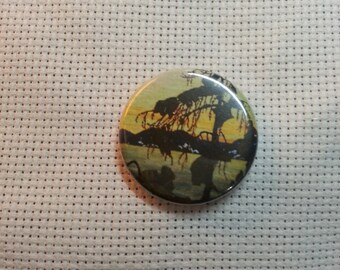 Tom Thomson Jack Pine Button Needle Minder Group of Seven