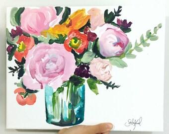 Floral fun print 11x14!
