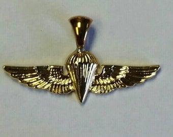 Recon Marine ANGLICO Gold Wing Pendant