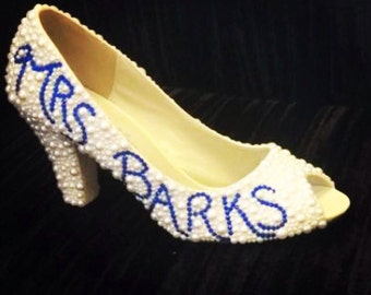 Weddings, pearl wedding shoes, bridal shoes, ivory shoes, wedding heels, custom heels, custom shoes, pearl white shoes, womens shoes