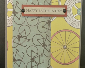 2643 Cyclists father's day Card
