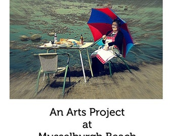Out To Sea Bygone Days An Arts Project at Musselburgh Beach A Photographic Book with Poetry