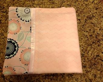 Pale Pink Pillow case, standard size pillow case, toddler bedding