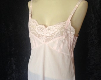 1950's Powder Puff Pink Slip