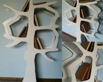 Handmade Tree Bookshelf Perfect for Nursery or Kids Room