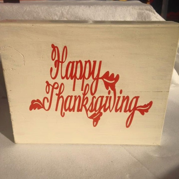 Reversible Holiday Wooden Sign