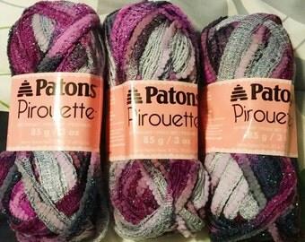 Patons pirouette yarn, 1 skein