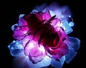 Pink Rose Light Up LED Corsage
