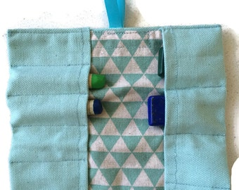 Waldorf Crayon Holder Etui Pouch for Lyra and Stockmar wax crayons