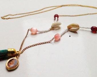 buddhist twist wish necklace