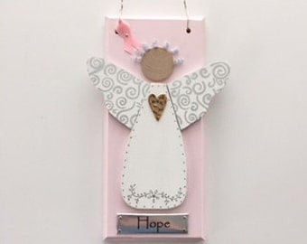 Breast Cancer Angel ~ Inspirational Angel ~ Helping angel ~ Hope Angel