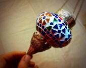 Ethnic Mosaic Handmade Candle Lantern - Interior lights & Homedecor.