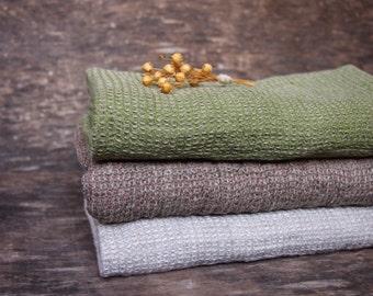 3 Linen Face Towels, Eco Linen Towel, Linen BathTowels, Linen Gift