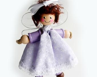 SALE Cotton Reel Doll Fairy, Bobbin Doll, Spool Doll