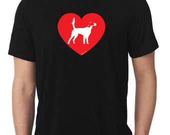 Love English Setter T-Shirt llewellyn T862
