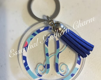 Keychain Personalized with initial(s)