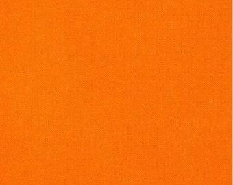 1 Yard Orange Fabric - Robert Kaufman Kona cotton orange ONE YARD