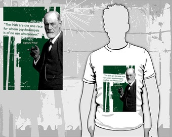 Freud on the Irish T-Shirt