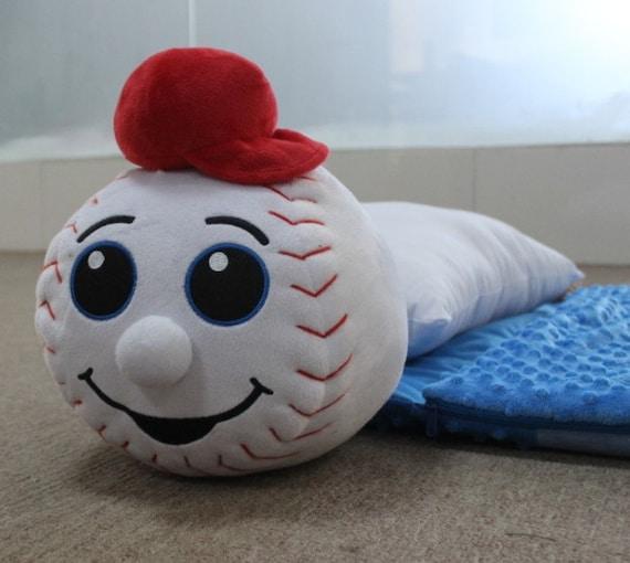 Kids Baseball Sleeping Bag