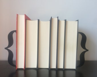 Brackets Bookends - Metal Bookends - Unique Gift - Metal Art - Custom