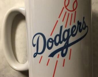 Los Angeles Dodgers Baseball mug