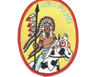 Arapaho Native American Tribe Patch