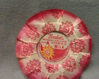 Borden's with Elsie Vitamin D Milk Bottle Cap