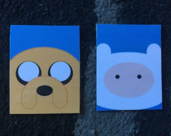 Adventure Time Finn and Jake Magnets