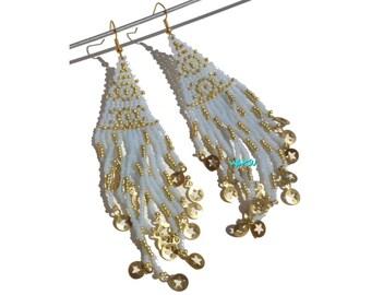 Seed beads errings