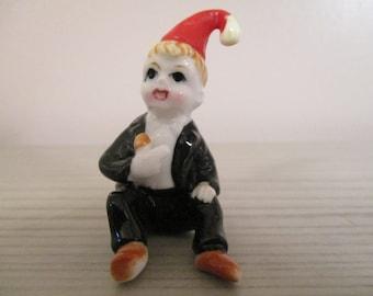 Bone China Little Jack Horner Nursery Rhyme Figurine