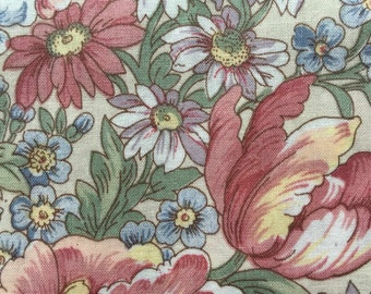 FF125 Concord (6 HALF yards available) Floral Fabric