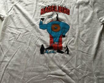Rare Vintage 80s Lender's Bagels BAGEL BIRD T Shirt