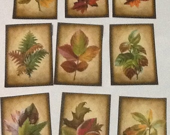 9 Autumn Tags