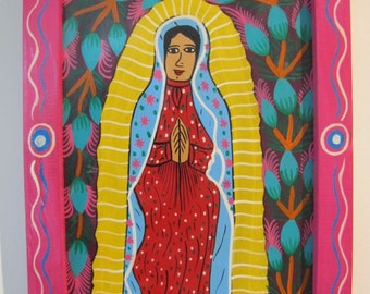Mexican Folk Art -Mary