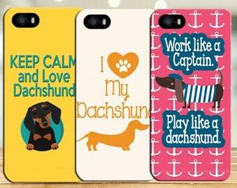 Dachshund phone cases, keep calm phone case, nautical phone case, pink phone case, anchor phone case, iphone 6 phone case, samsung galaxy