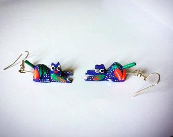 aretes alebrije / alebrije earrings