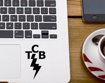 TCB Taking Care of Business Vinyl Decal