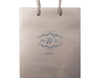 Monogrammed - Personalized Hotel Wedding Welcome Bags - Set of 35