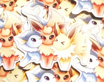LARGE Eeveelution Trio Sticker