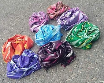 Ikat scarf 100% cotton
