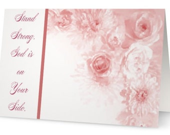 Encouragement for cancer patients w/matching envelope