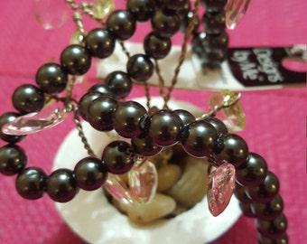 Cousin Designs by Me 10mm Black Glass Pearls, 23pc AJM63716106