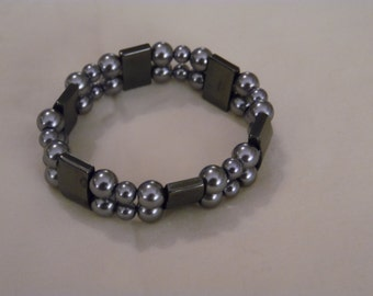 Grey Stretch Bracelet
