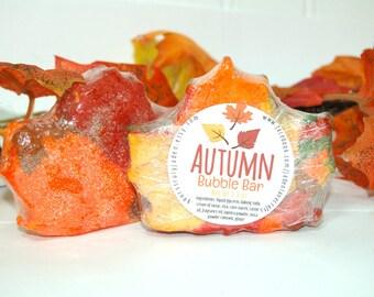 Autumn Bubble Bar - Solid Bubble Bath