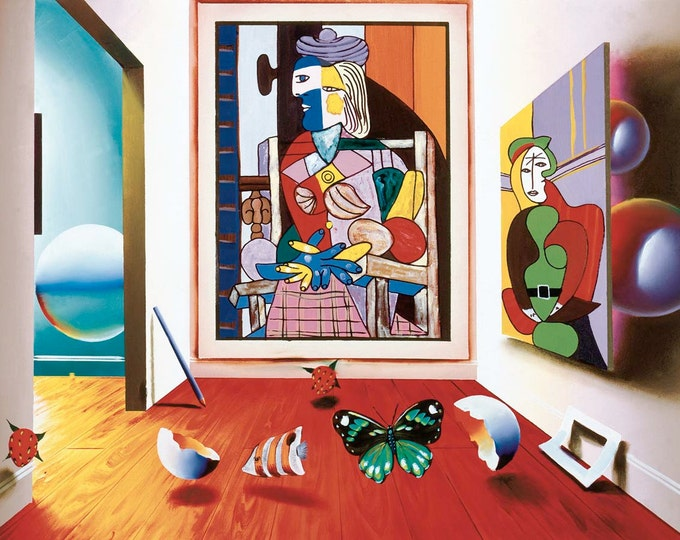 """Ferjo """" ROOM WITH PICASSO """""""